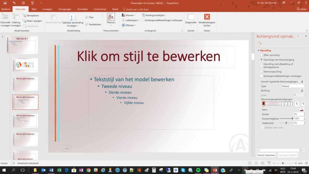 Sneller werken in PowerPoint 2