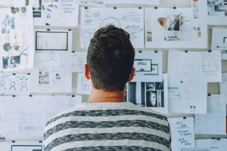 digitaal brainstormen met Whiteboard-tool