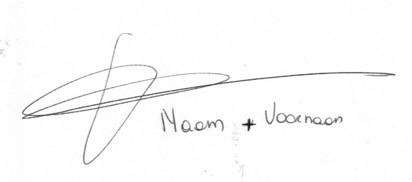 digitale handtekening evelien naam