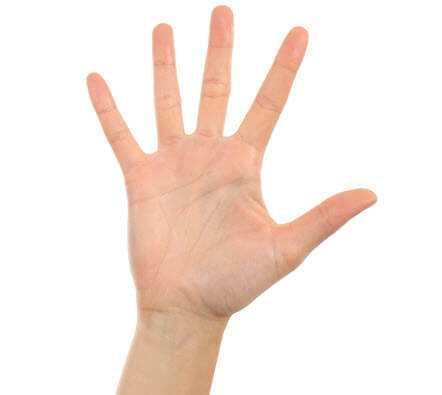 opgestoken hand SS 121188619 1