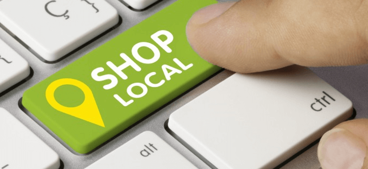 Shop local on local Friday