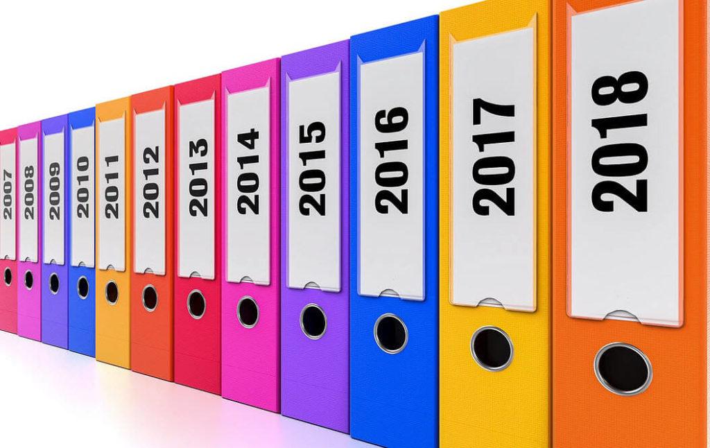 Welke documenten mag je weggooien